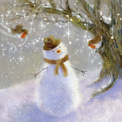 Robin Friends Christmas Card 2021