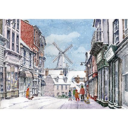 Cranbrook Snowfall Christmas Card 2021