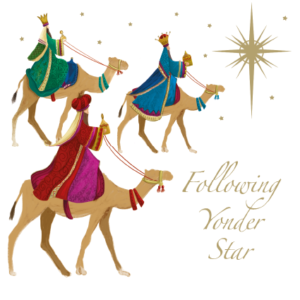 The Three Kings Christmas Card 2021