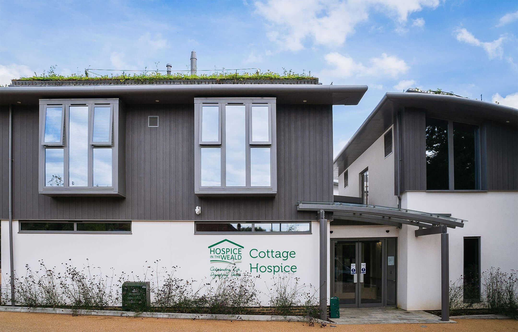 Cottage Hospice building exterior