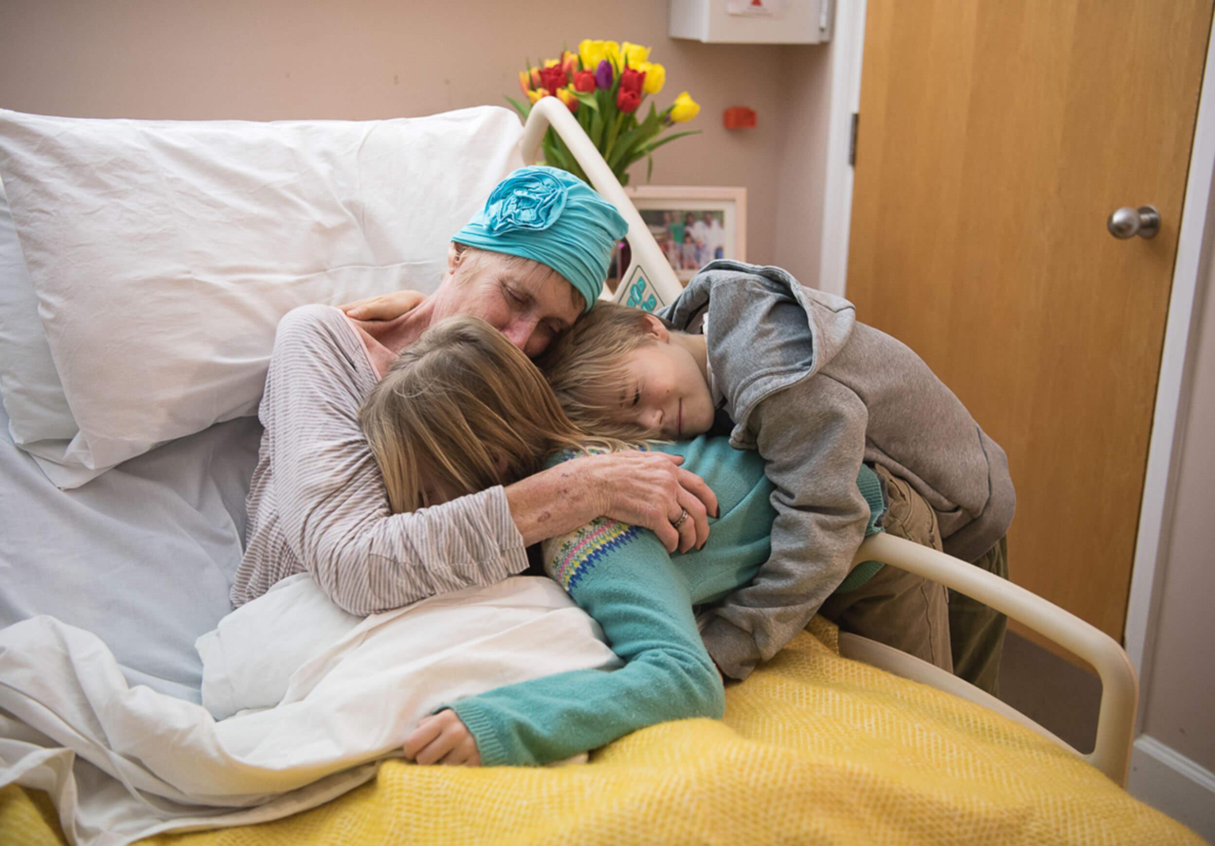 Patient with grandchildren
