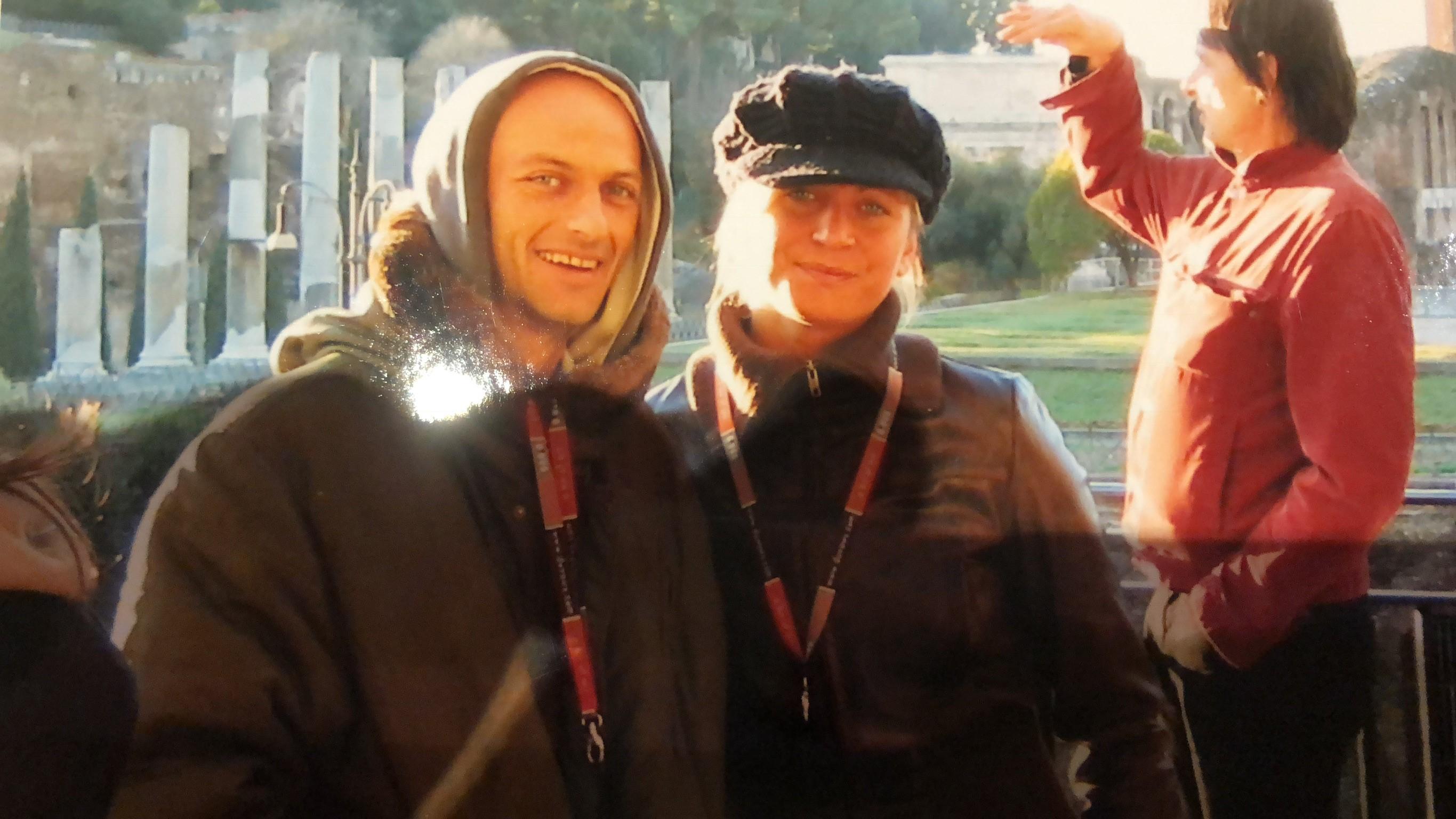 Nicole with Robert