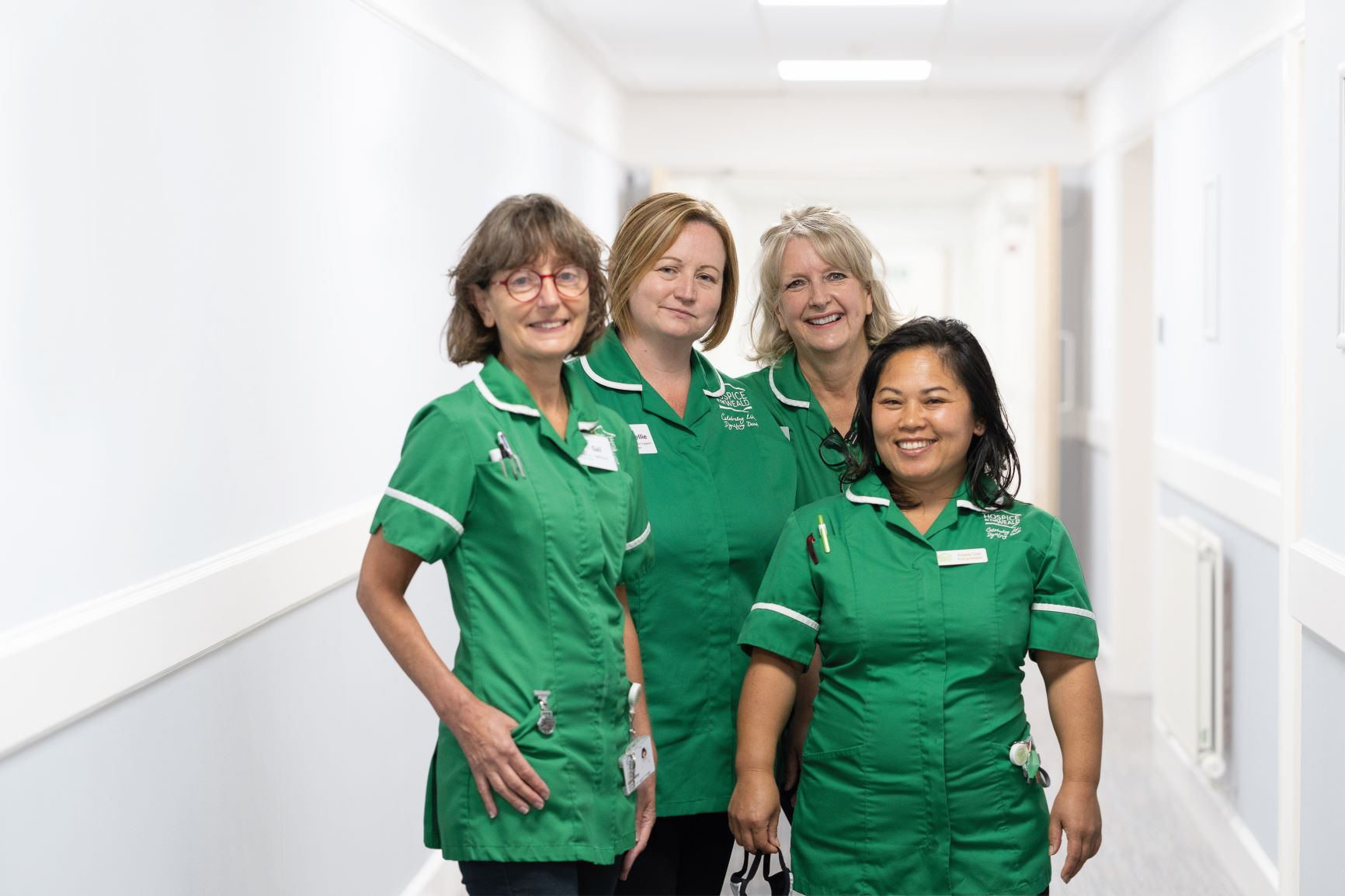 Four Nurses facing camera