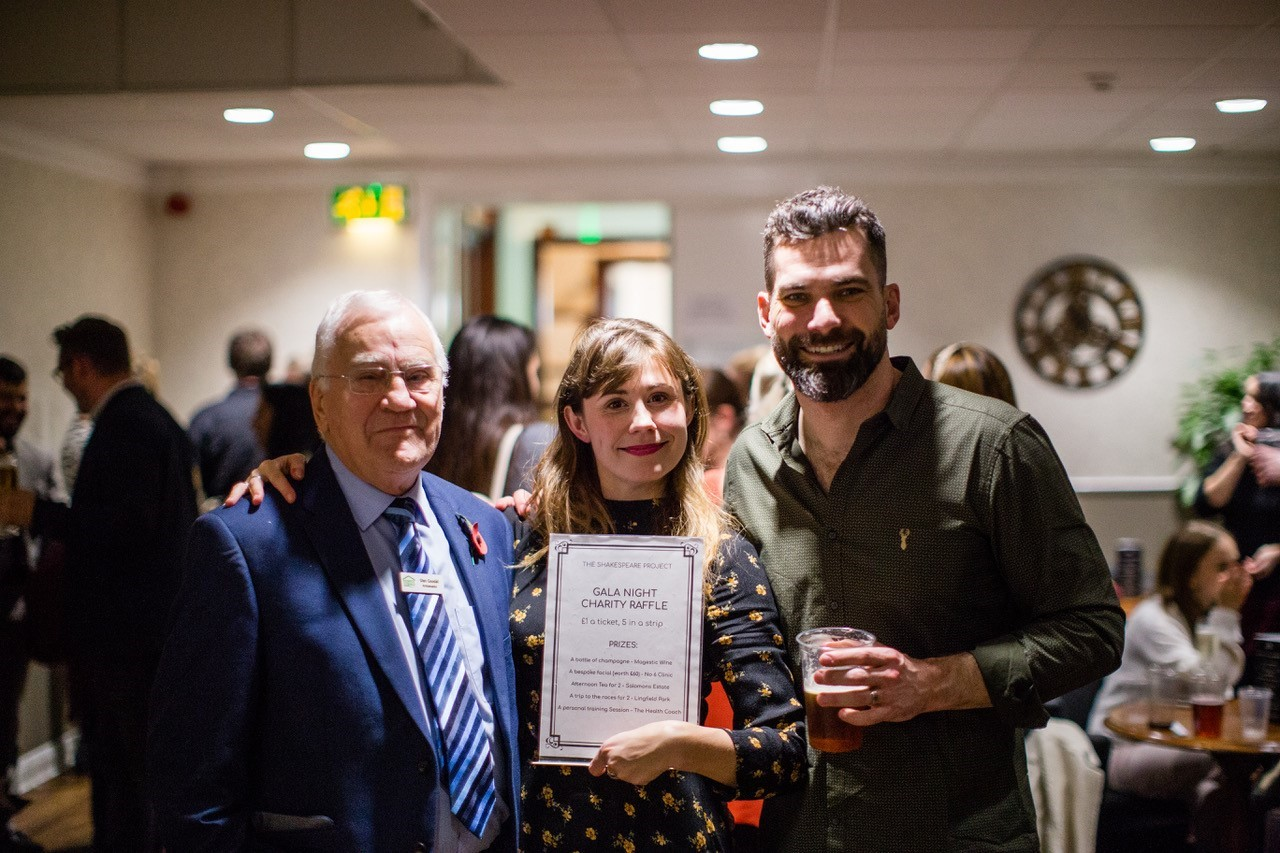 Supporters and Ambassador at in aid of event