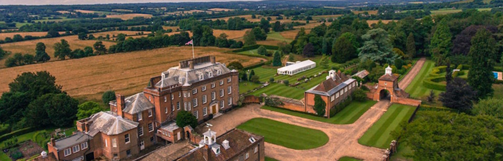 St Clere Open Gardens Aerial View