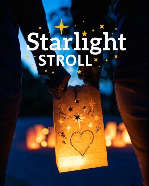 Starlight Stroll Lantern with Logo overlaid