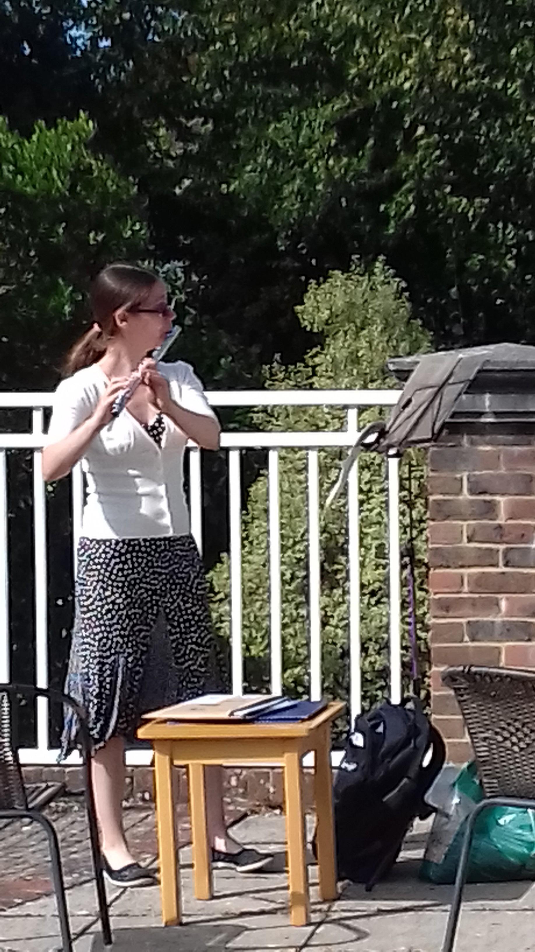 Supporter Music in the Garden