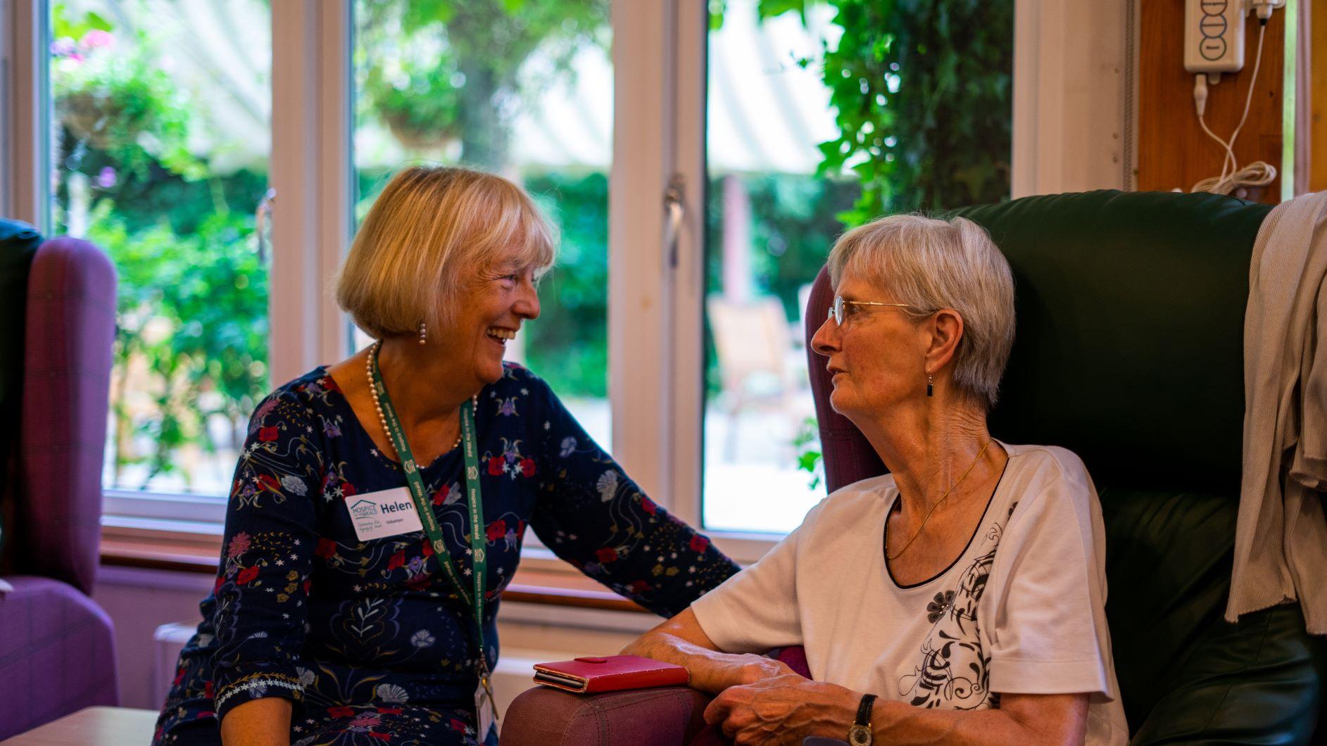 Volunteer and Patient