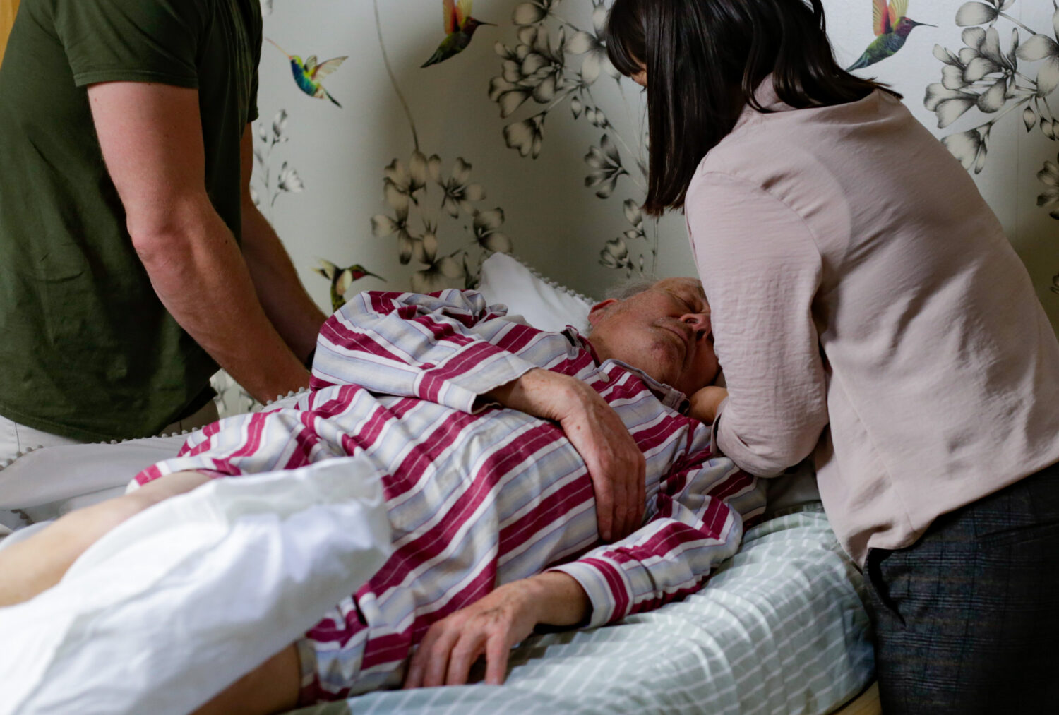 caring for loved one in Cottage Hospice