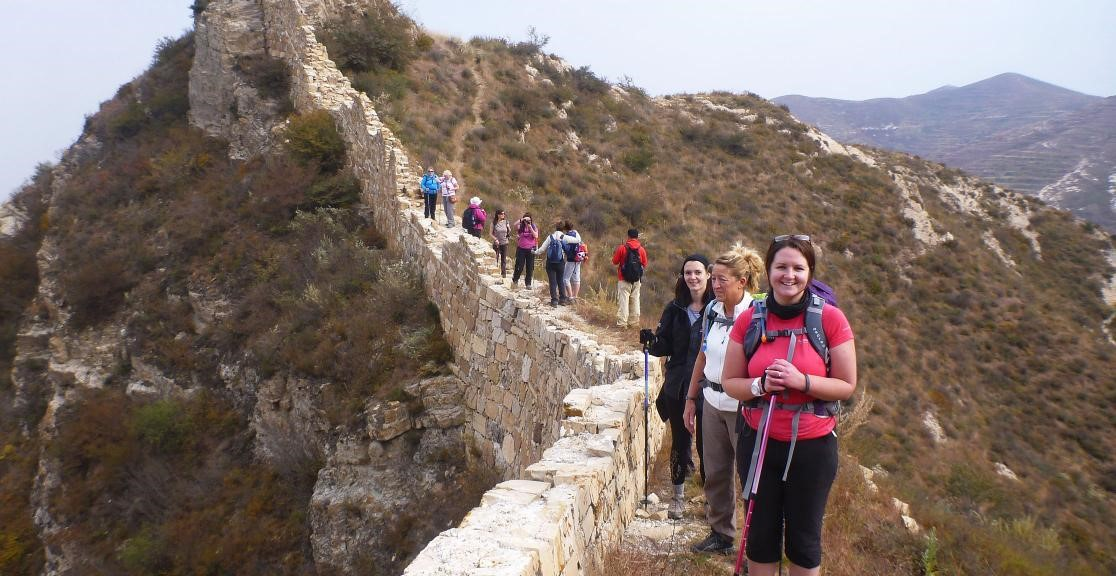 Great Wall of China Trek Team