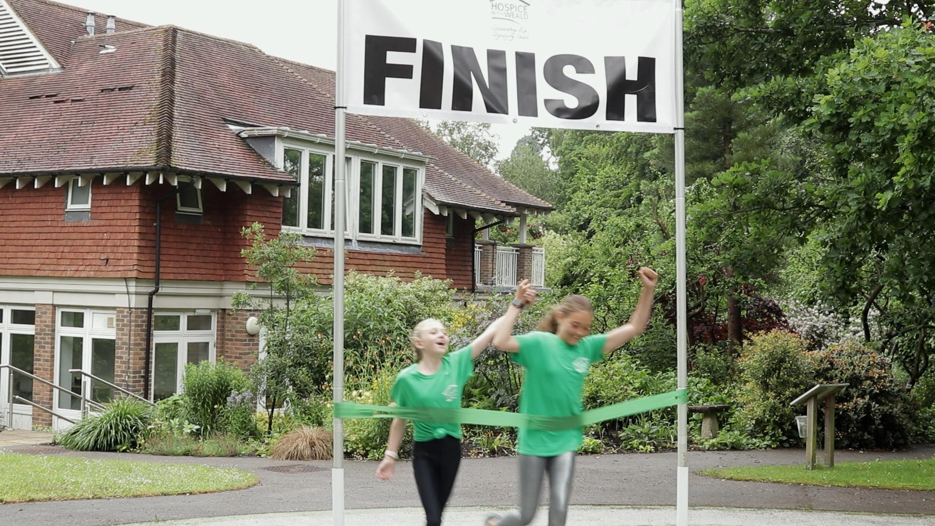 Aurora and Bertie complete their 2000km challenge