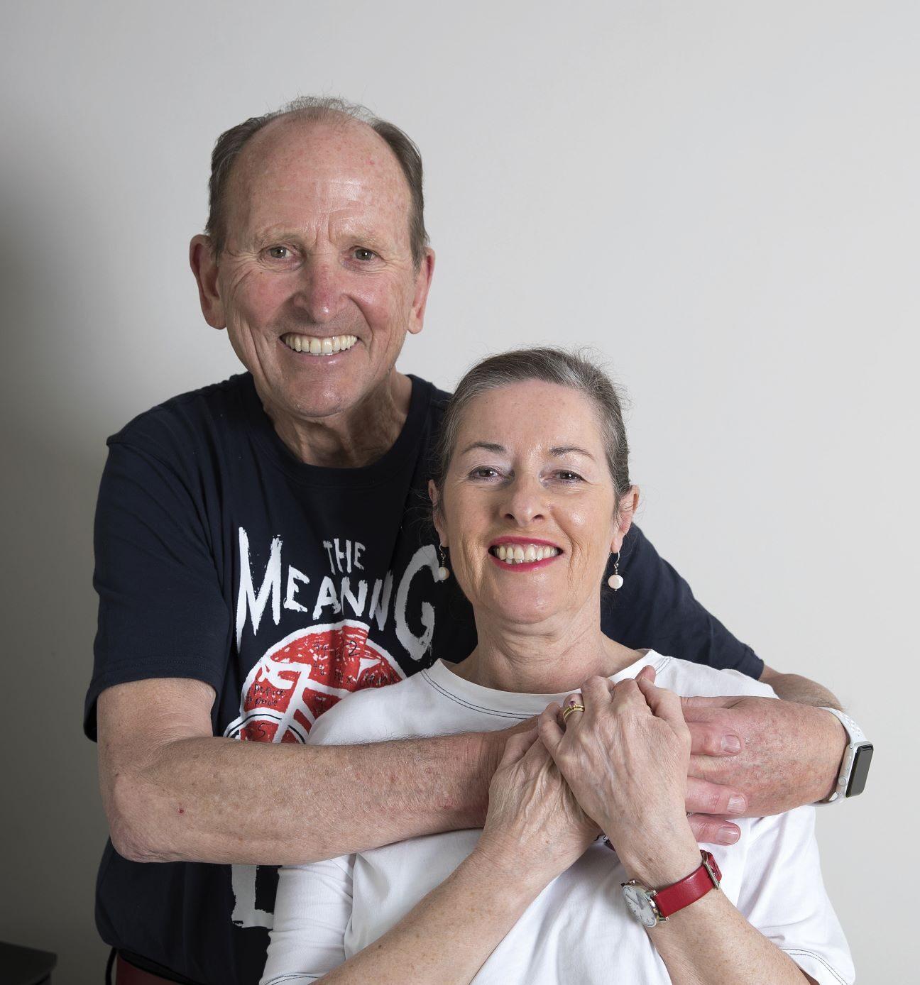 Hugh and his wife Ann