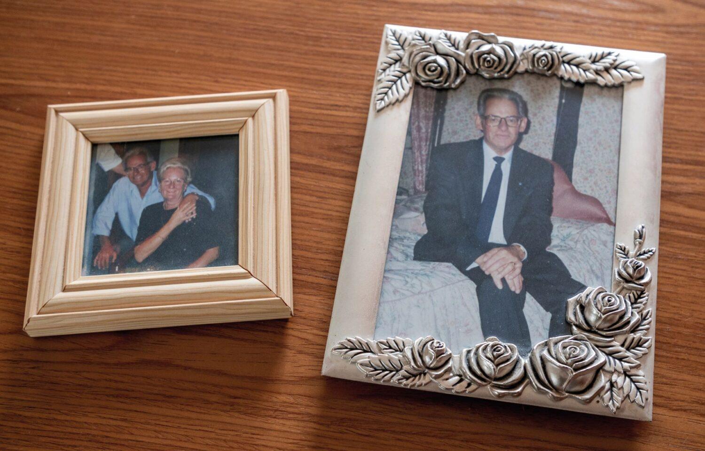 Rogina's photos of her and Joseph