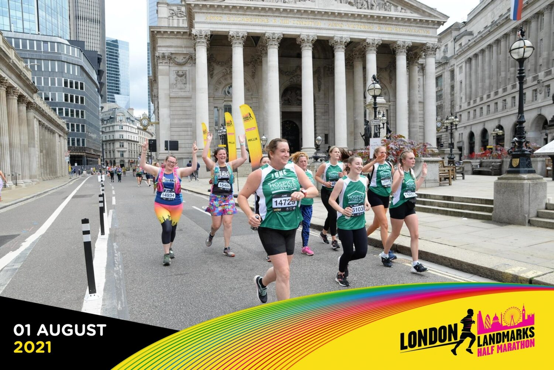 Team Fullers London Landmarks Half Marathon 2021