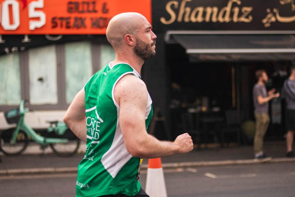 Ollie McCarthy Running Brighton Marathon 4