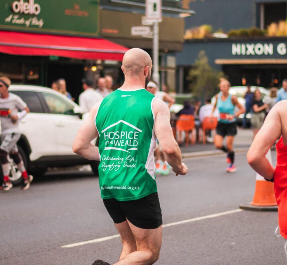 Ollie McCarthy Running Brighton Marathon 5