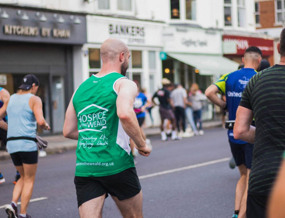 Ollie McCarthy Running Brighton Marathon 2