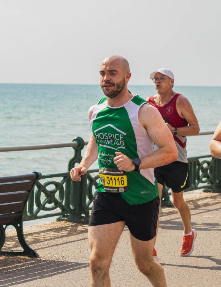 Ollie McCarthy Running Brighton Marathon 3